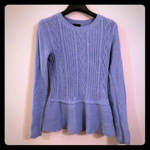 EUC Talbots XS Lt Blue Sweater